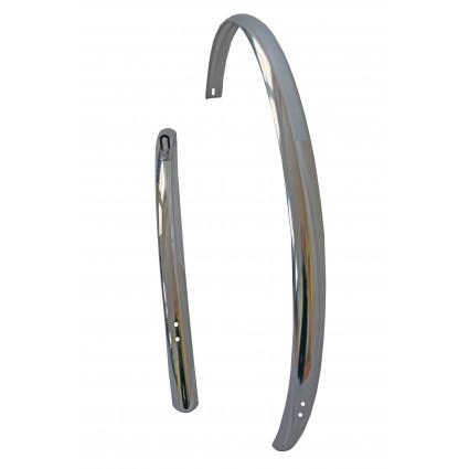 Schutzblech Aluminium, (silber) poliert, 41mm