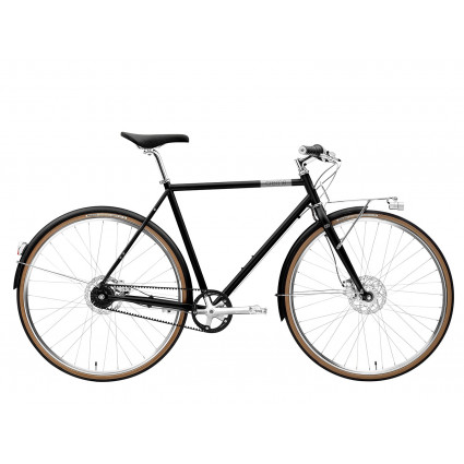 Creme Ristretto Bolt 2020, 7-Gang, Carbon grey