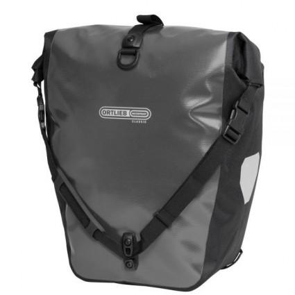 Ortlieb Backroller Classic, Black - Asphalt SET