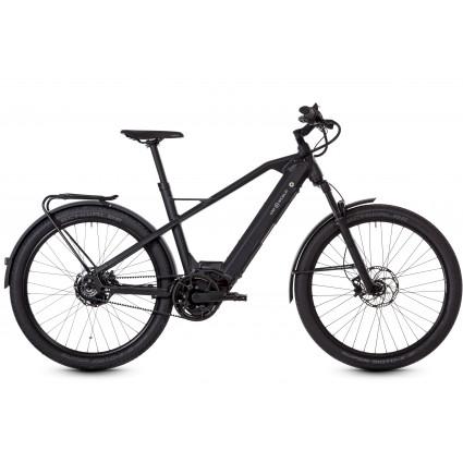 HNF Nicolai XD3- Das E-Bike für Pendler und Abenteurer, Schwarz RH S/M