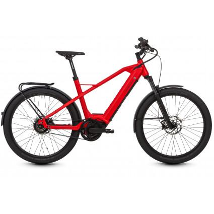 HNF St. Nicolai XD3- Das E-Bike für Pendler und Abenteurer, Rot