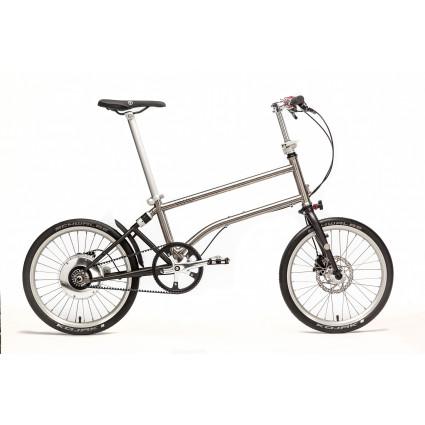 Vello Bike+ Titan Riemenantrieb, unisize, automatische elektronische Gangschaltung
