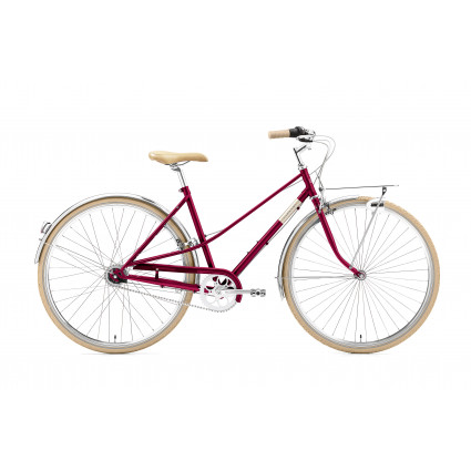 Creme Caferacer Lady Solo 2021, 7-Gang