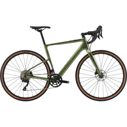Cannondale Topstone Carbon 6, beetle green