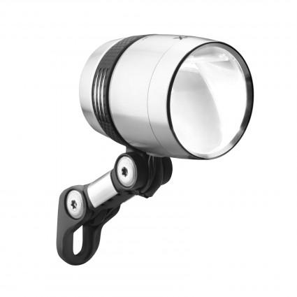 Busch & Müller Lumotec IQ- X Scheinwerfer für Nabendynamo 100 Lux, silber